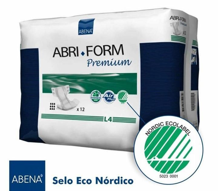 Abri-Form Premium L4 - Abena - Fralda geriátrica tradicional - Pacote com 12 unidades