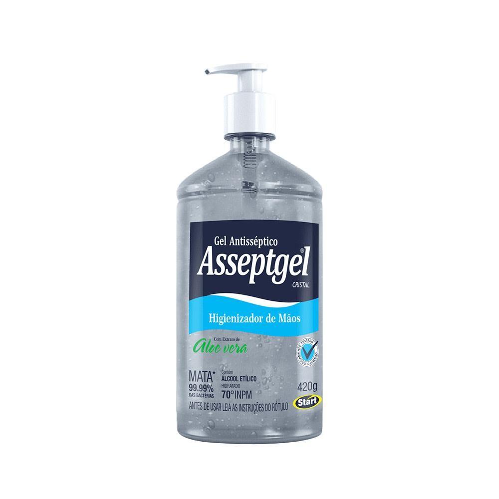 Álcool Gel Asseptgel - 420 g