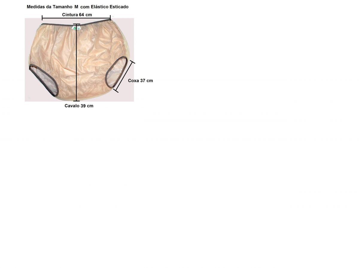 Calça Plástica sem Botão Senior - M