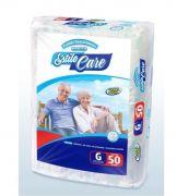 Estilo Care G - Fralda geriátrica tradicional - Pacote com 50 unidades