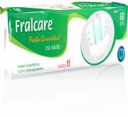 Fralcare M - Fralda geriátrica tradicional - Pacote com 60 unidades