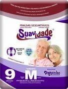 Fralda Suavidade Premium M com 9 unidades