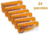 Kit Absorvente Adultcare Premium com fita adesiva - 24 pacotes - 480 unidades