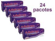 Kit Absorvente Adultcare sem fita adesiva - 24 pacotes - 480 unidades