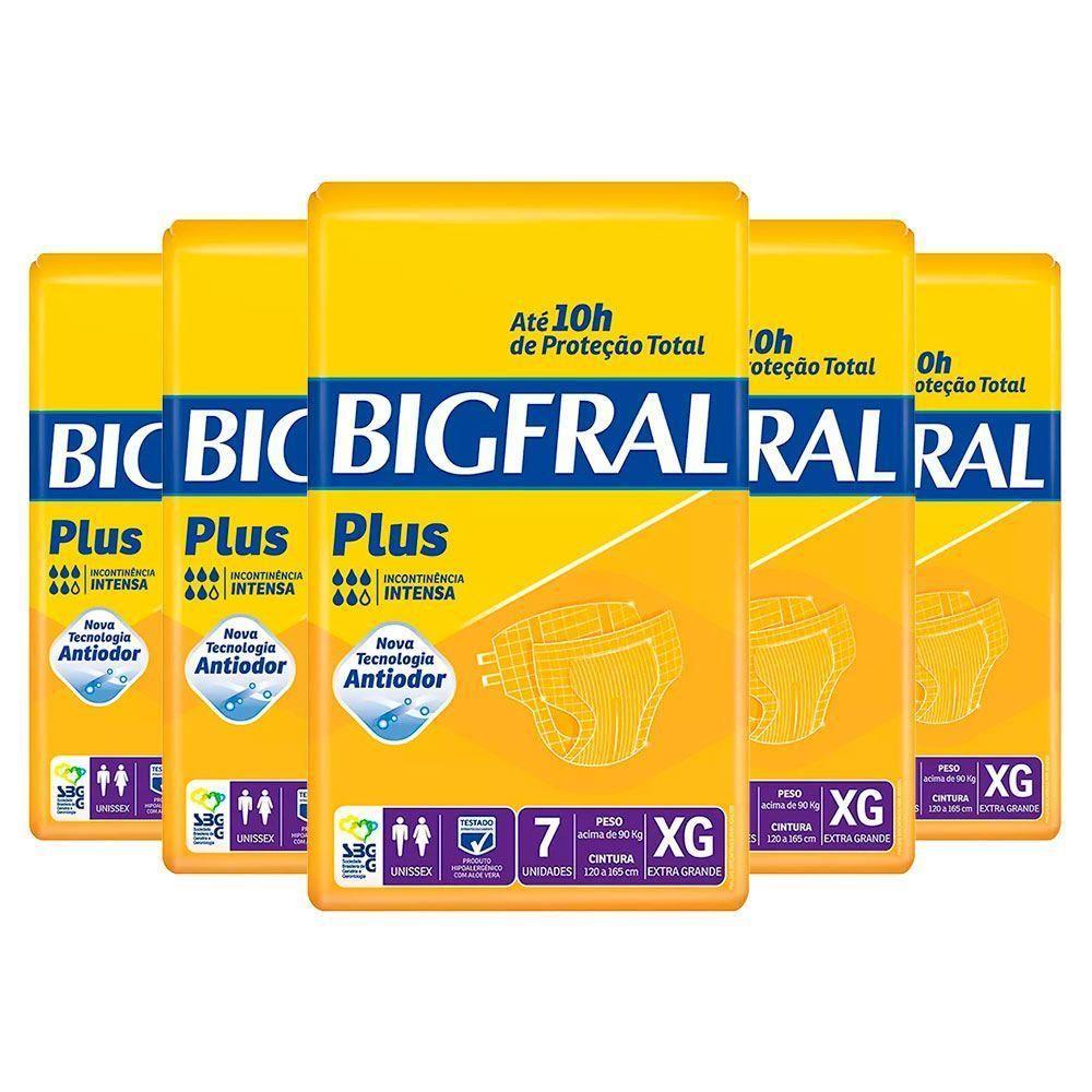 Kit Bigfral Plus XG - 8 Pacotes - 56 unidades