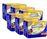 Kit Higifral Premium G - 6 pacotes - 108 unidades