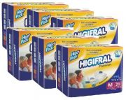 Kit Higifral Premium M - 6 pacotes - 120 unidades