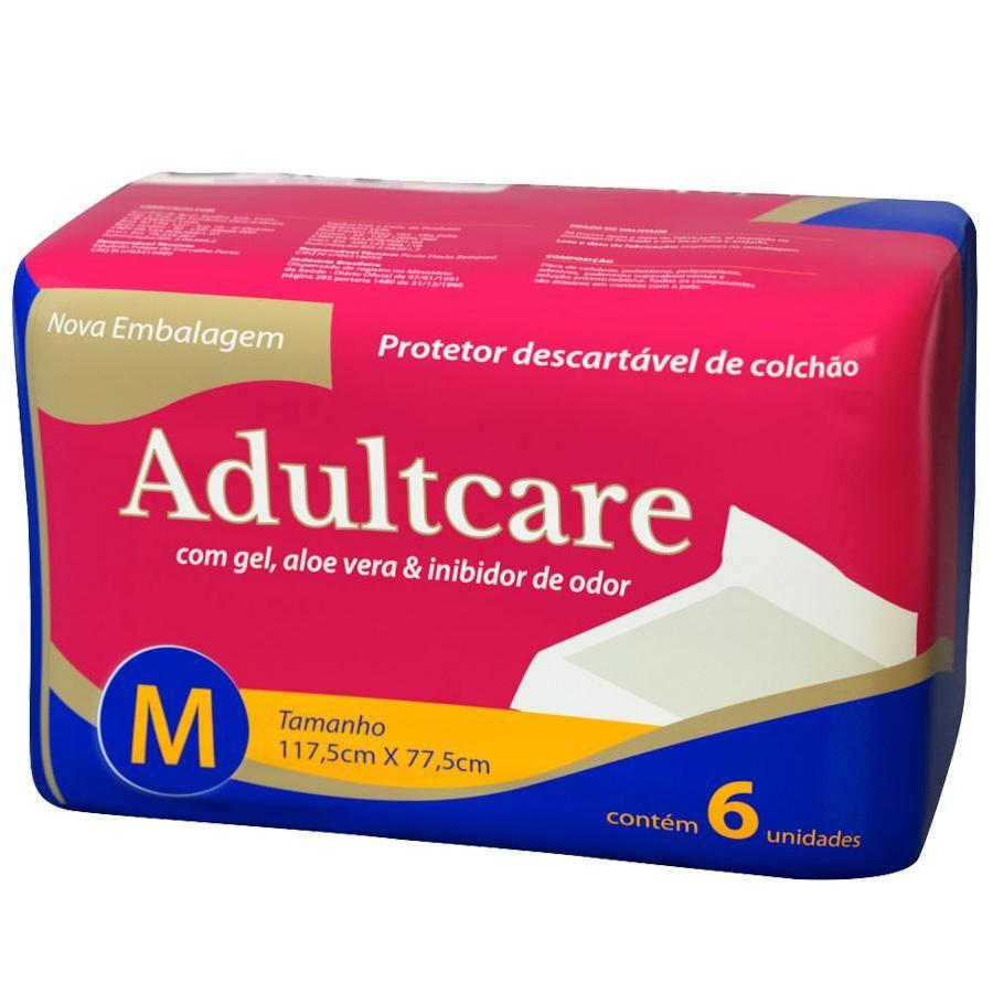 Protetor de Colchão Descartável Adultcare M - 117,5 cm X 77,5 cm