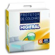 Protetor de Colchão Higifral G - 150 cm x 80 cm