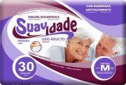 Suavidade Mega M - Diguinho - Fralda geriátrica tradicional - Pacote com 30 unidades