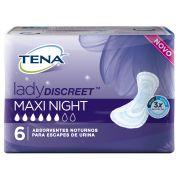 Tena Lady Maxi Night - Absorvente Feminino - Pacote com 8 unidades - Tena